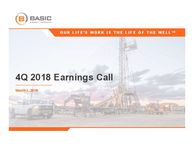 Q4 2018 Earnings Release Presentation