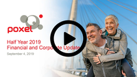 Half Year 2019 Financial & Corporate Update – in French