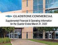 Gladstone Commercial Financial Supplement as of March 31, 2020