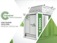 Q3 FY2020 Capstone Turbine Corporation Earnings Presentation