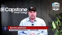 Capstone Green Energy CEO Darren Jamison on the Capstone Rebrand and B2B Opportunities in INDYCAR