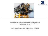IPAA Oil & Gas Investment Symposium