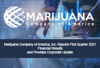 Marijuana Company of America, Inc. Reports First Quarter 2021 Financial Results and Provides Corporate Update
