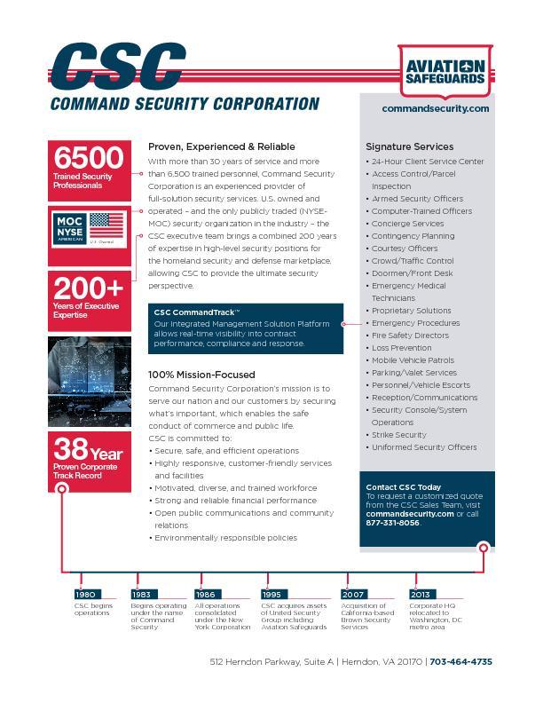 CSC Knightscope Autonomous Robot Security