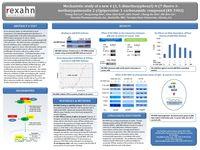 Mechanistic study of a new 4-(3, 5-dimethoxyphenyl)-N-(7-fluoro-3-methoxyquinoxalin-2-yl)piperazine-1-carboxamide compound (RX-5902)
