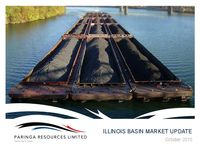 Illinois Basin Market Update