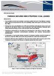paringa secures new strategic coal leases