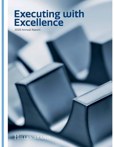 Hillenbrand, Inc. 2020 Annual Report Thumbnail