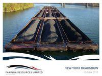 New York Roadshow Presentation