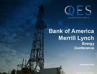 Bank of America Merrill Lynch Energy Conference Presentation