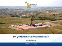 Third Quarter 2018 Earnings Presentation