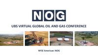 UBS Global Oil and Gas Conference