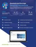 Quarterly Webcasting & Teleconferencing