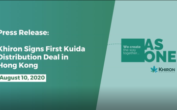 Khiron Signs First Kuida™ Distribution Deal in Hong Kong thumbnail