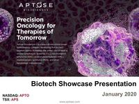 Aptose Biosciences Inc. at Biotech Showcase™ 2020 Conference Presentation