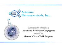 CD33 Program Update – Actimab-A Post Phase 2 Results and Actimab-MDS Regulatory Update PDF
