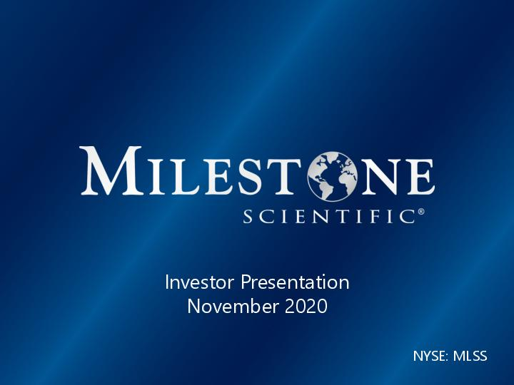 Investor Presentation November 2020