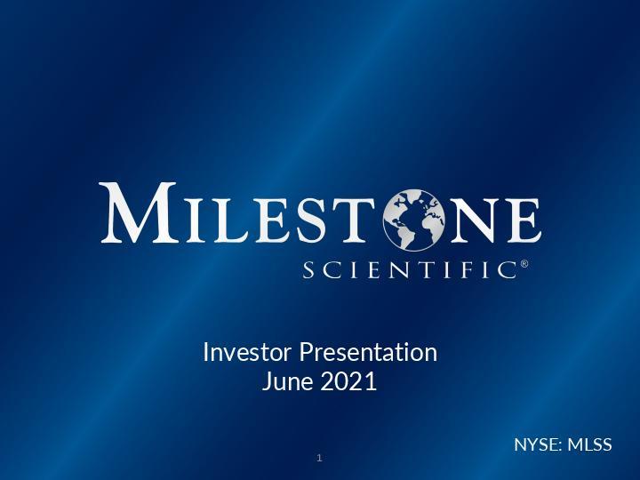 Investor Presentation April 2021