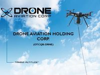 Drone Aviation Corporate Presentation - August 2018