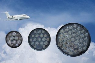 Astronics LSI Granted Parts Manufacturer Approval for New Aircraft LED Landing and Taxi Lights