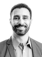 Headshot of Ahmed Shehata, General Counsel and Head of Corporate Development for Medipharm Labs