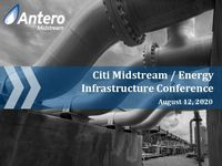 Citi Midstream /Energy Infrastructure Conference Presentation