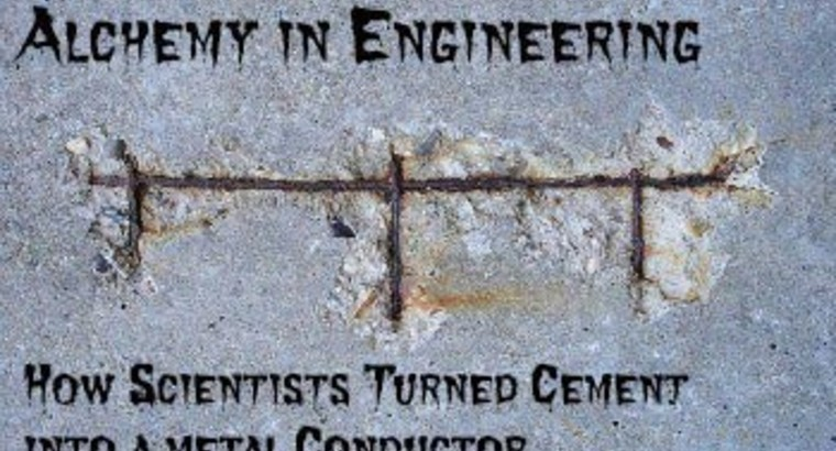 How Scientists Turned Cement into a Metal Conductor