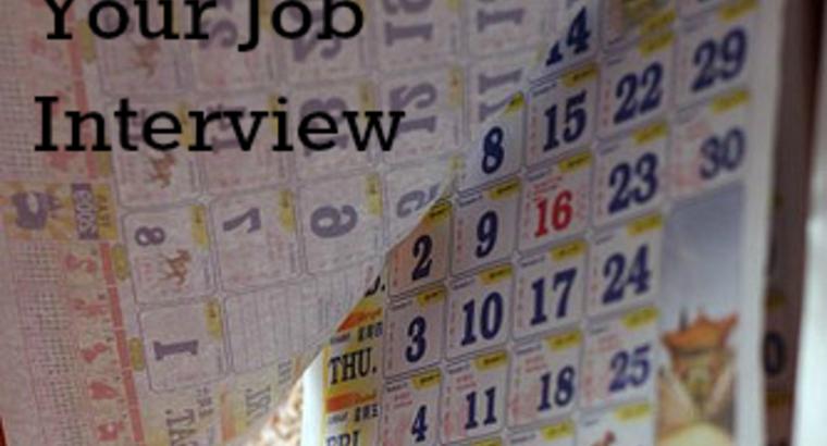 Rescheduling Your Job Interview