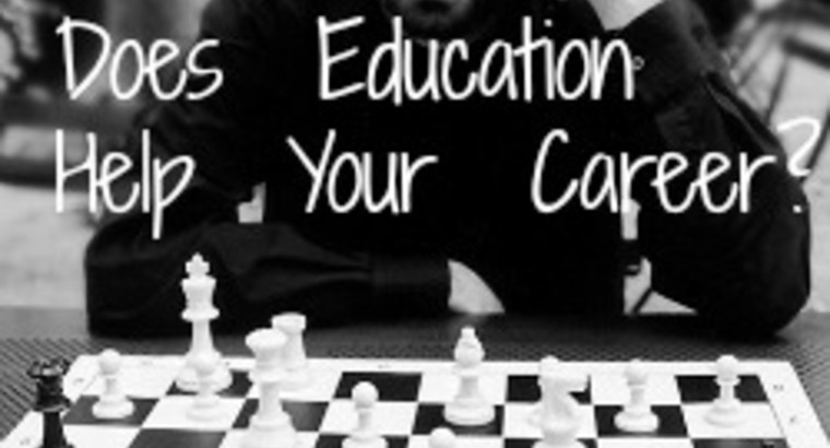 Does Education Help Your Career?
