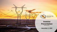 November / December 2020 Investor Presentation
