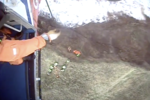 Father and son dramatically rescued from cliff after getting cut off by incoming tide