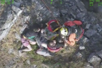 Two men safely rescued after climbing Welsh cliff