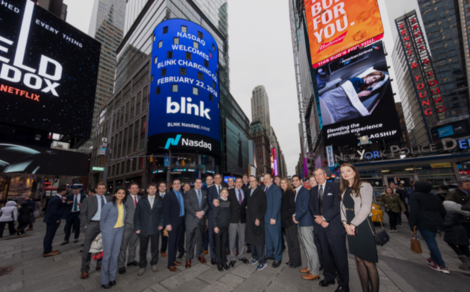 Lucosky Brookman Congratulates its client, Blink Charging Co. (BLNK), on its $18,500,250 Capital Raise and NASDAQ Listing