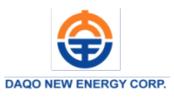 Daqo New Energy Corp.