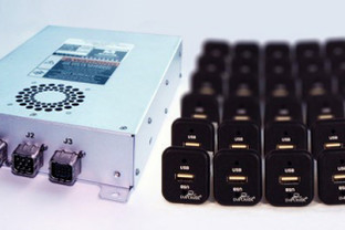 Astronics Advanced Electronic Systems Certifies and Delivers New UltraLite In-Seat Power System