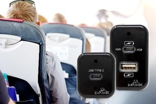 Astronics Advanced Electronic Systems Introduces New USB Type-C In-Seat Power System