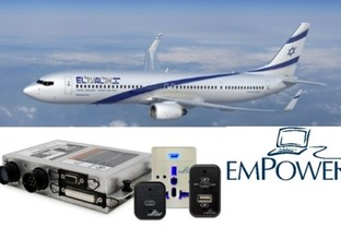 Astronics Selected to Provide USB-C In-Seat Power System for EL AL Airline's Boeing 737-800 Fleet