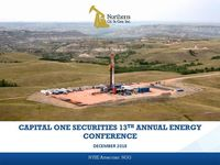 Capital One Securities 13th Annual Energy Conference