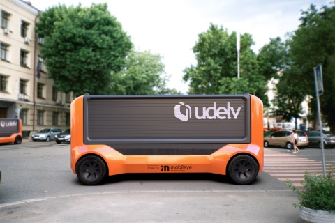 Mobileye and Udelv Ink Deal for Autonomous Delivery