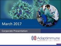 March 2017 Corporate Presentation: Jefferies