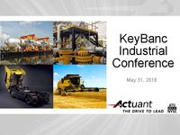 KeyBanc Industrial Conference Presentation