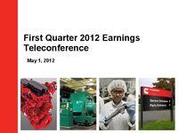Q1 2012 Earnings Presentation