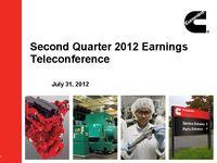 Q2 2012 Earnings Presentation