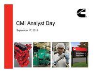2013 Analyst Day Presentation