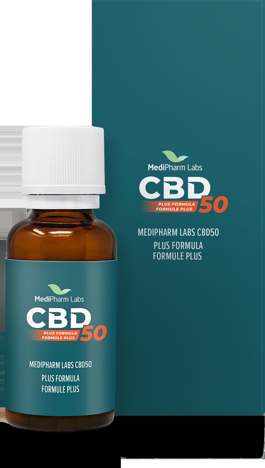 CBD50 Plus Formula