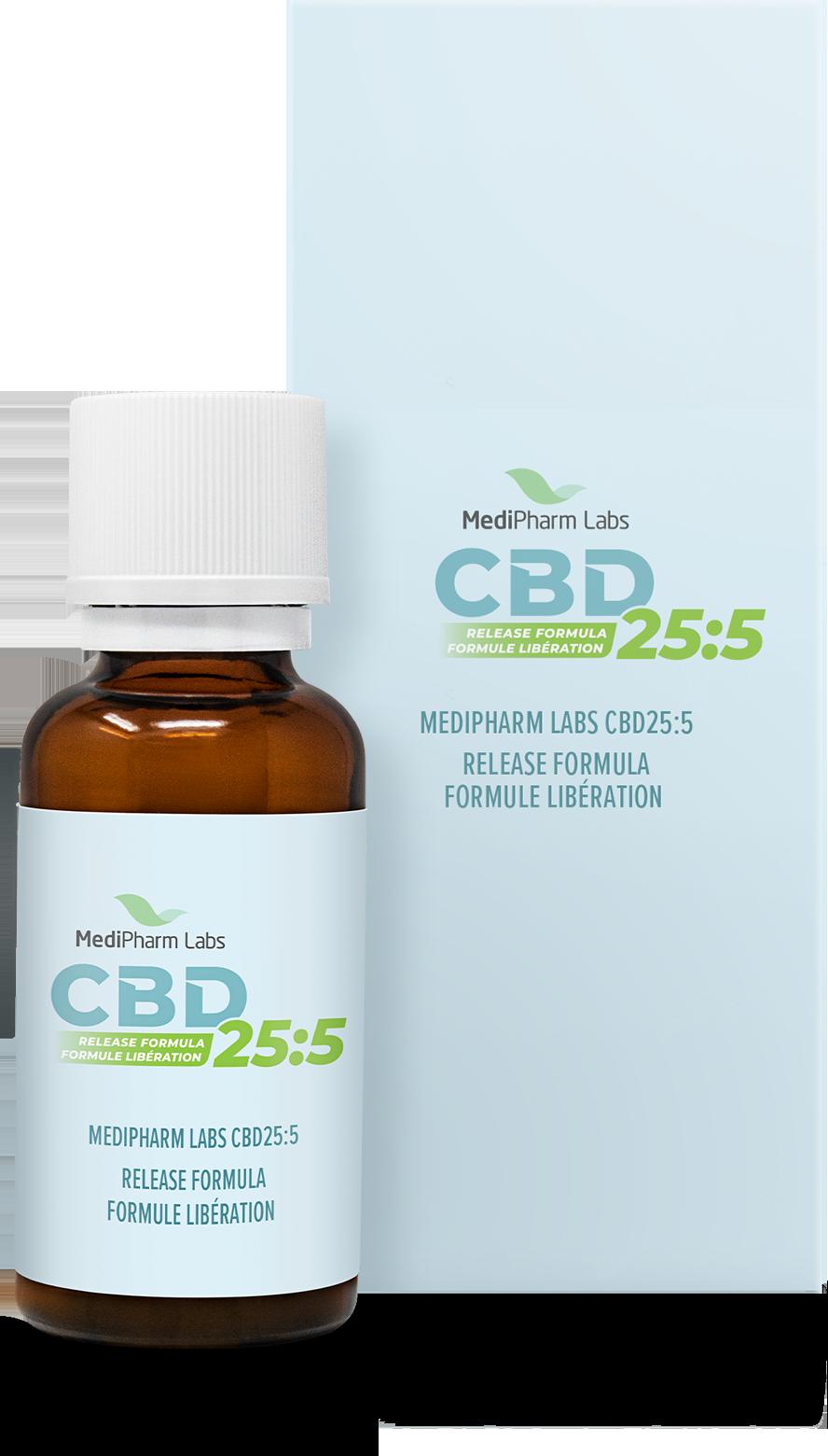 CBD25:5 Release Formula