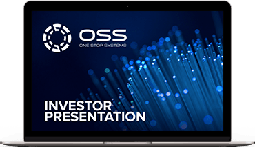 SNNLive interview with Steve Cooper, President and CEO of One Stop Systems, Inc.