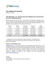 2017 Dividend Tax Treatment