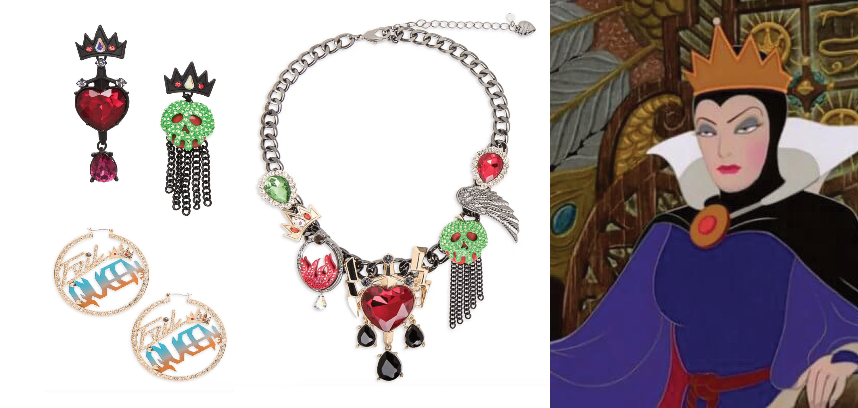 BETSEY JOHNSON DELIVERS WICKED DISNEY-INSPIRED EVIL QUEEN COLLECTION