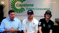 Capstone Turbine Strengthens its Partnership with IndyCar Series Drivers